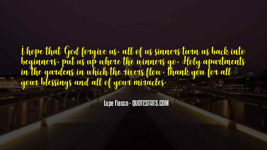 Quotes About God Blessing You #373795