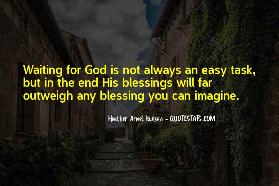 Quotes About God Blessing You #513965
