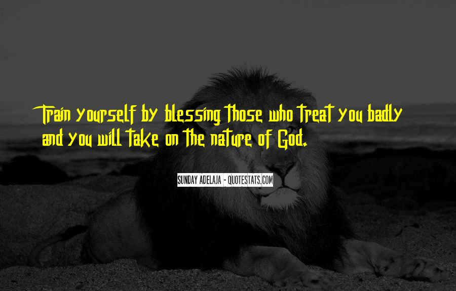 Quotes About God Blessing You #528179