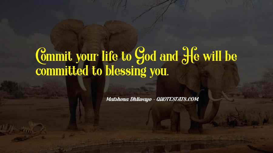 Quotes About God Blessing You #537217
