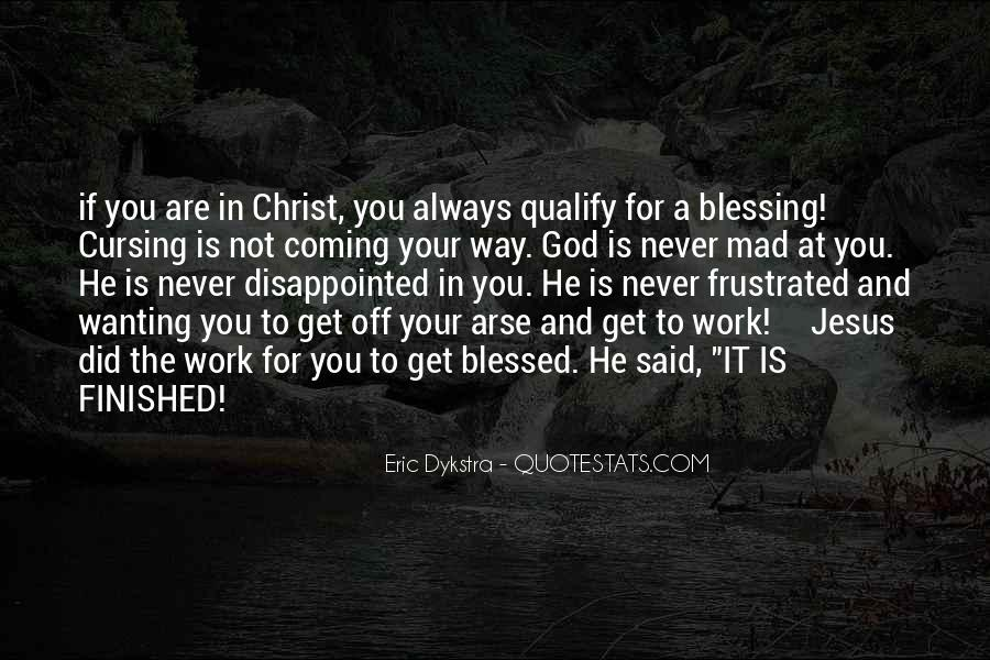 Quotes About God Blessing You #656780