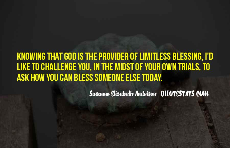 Quotes About God Blessing You #725119