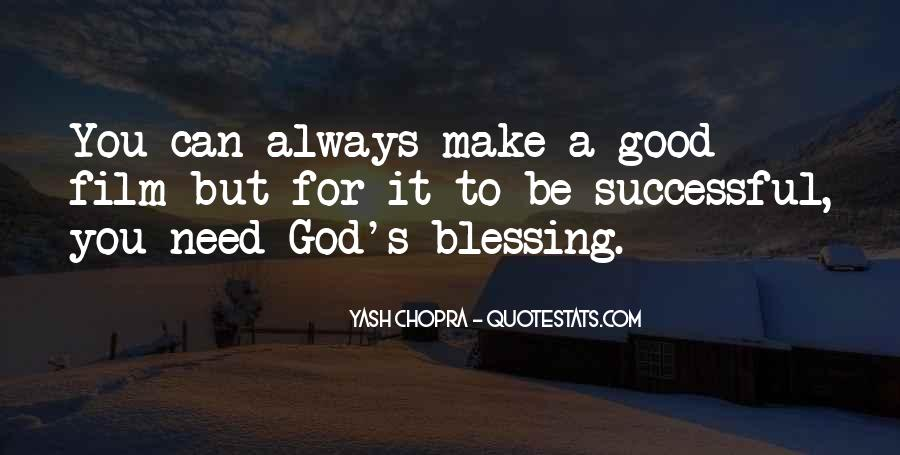 Quotes About God Blessing You #774940