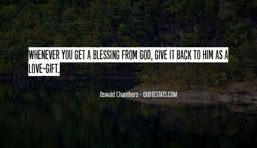 Quotes About God Blessing You #778132