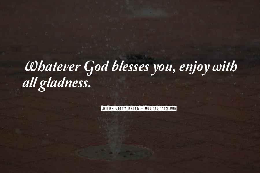 Quotes About God Blessing You #830880