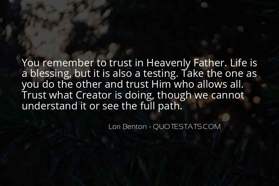 Quotes About God Blessing You #908238
