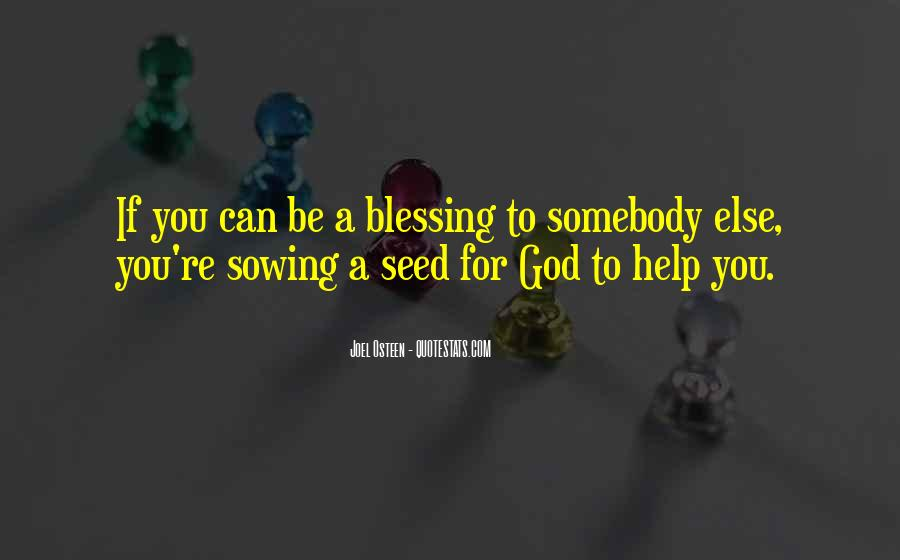Quotes About God Blessing You #911921
