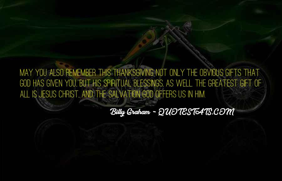 Quotes About God Blessing You #91897