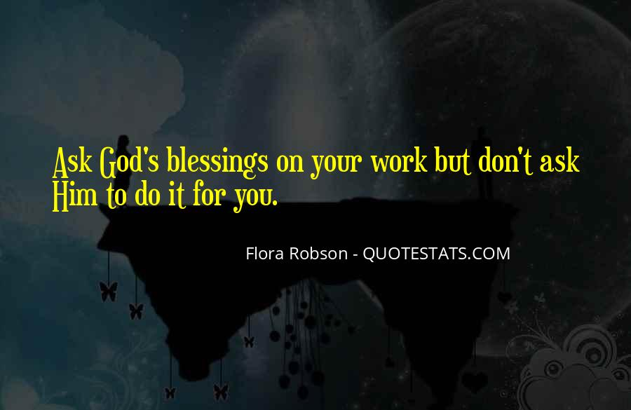 Quotes About God Blessing You #988037