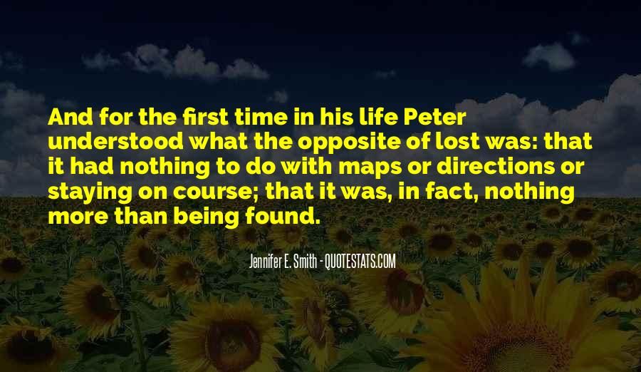 Quotes About Being Lost In Life #1708476