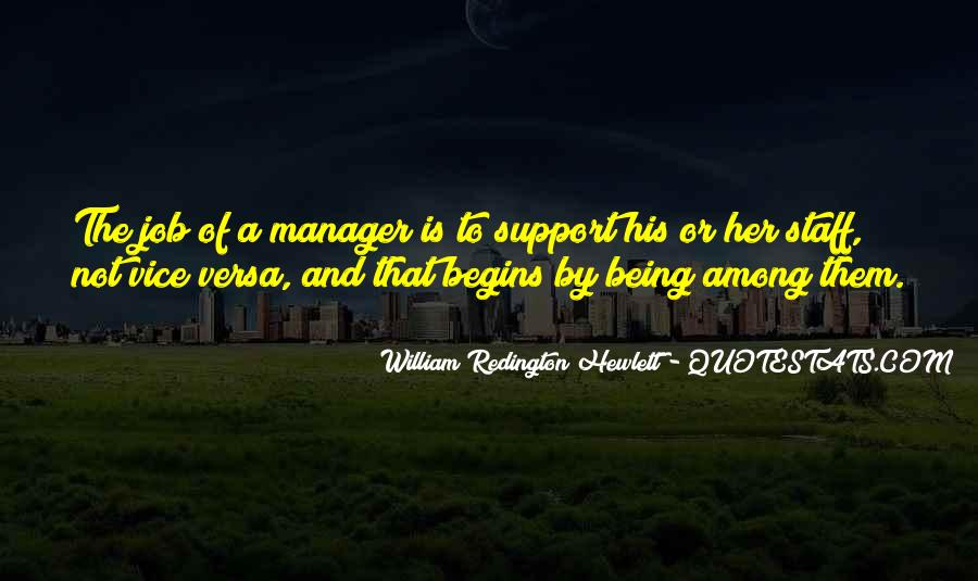 Quotes About Being A Manager #321283