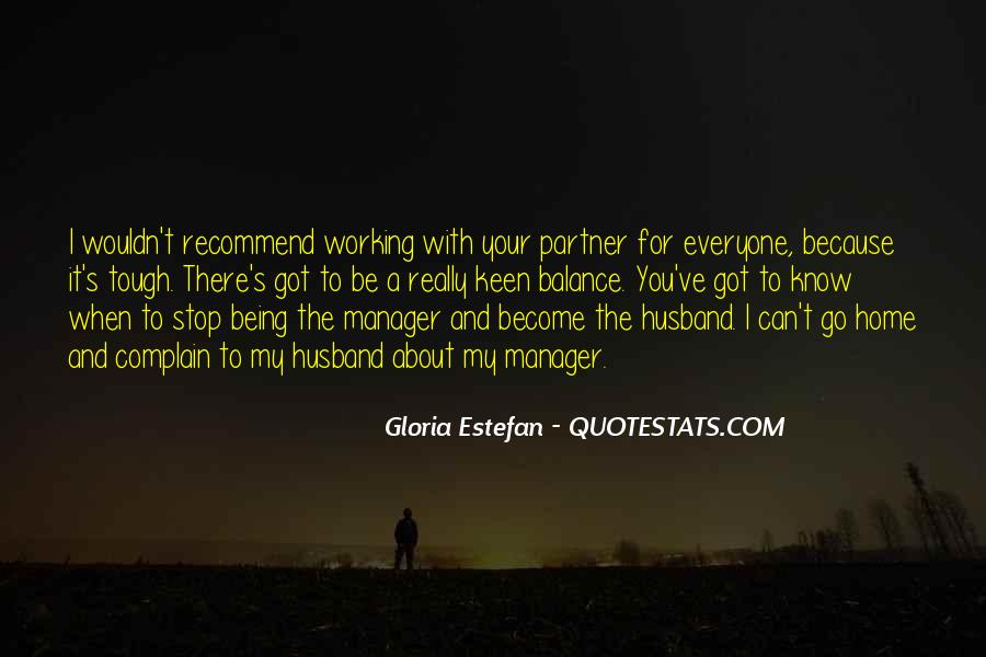 Quotes About Being A Manager #564001