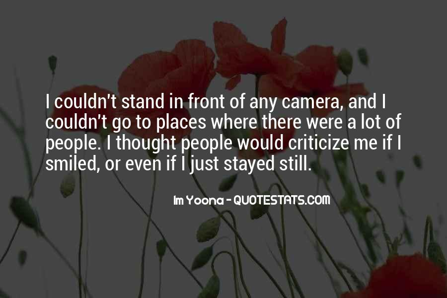 Quotes About Camera #41112