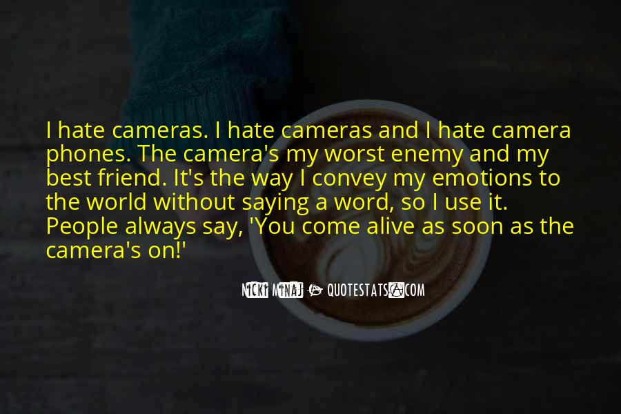 Quotes About Camera #47289