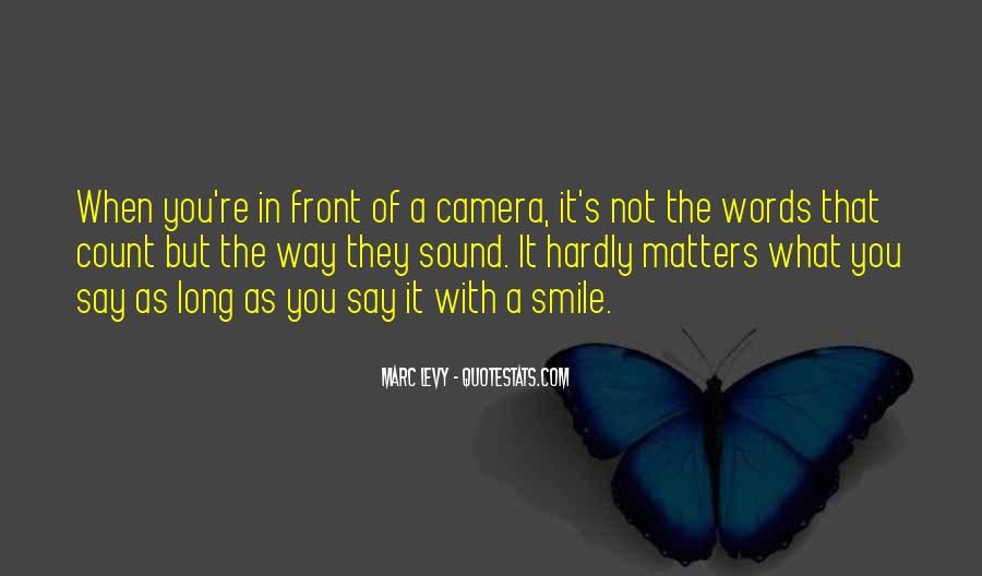 Quotes About Camera #66439