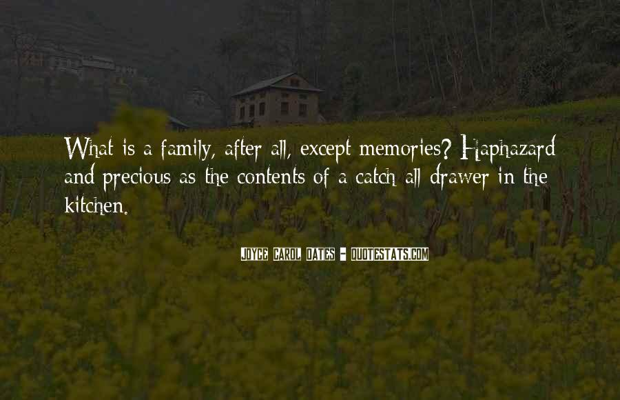 Quotes About Family In The Kitchen #1010403