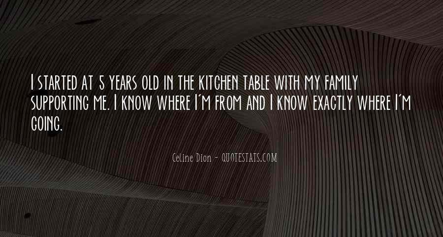 Quotes About Family In The Kitchen #106885