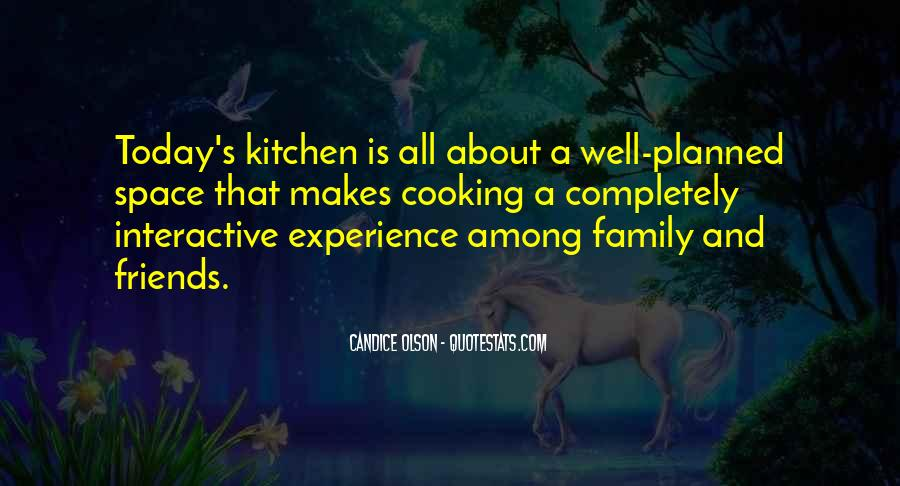 Quotes About Family In The Kitchen #133670