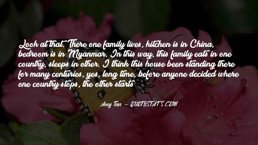 Quotes About Family In The Kitchen #188045