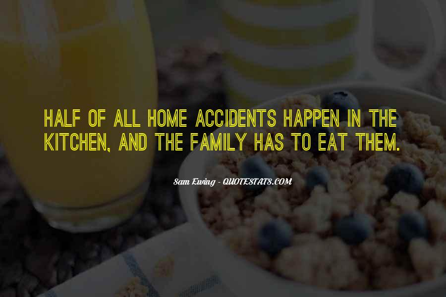 Quotes About Family In The Kitchen #258888