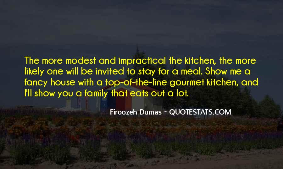Quotes About Family In The Kitchen #379784
