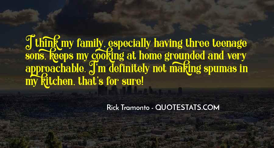 Quotes About Family In The Kitchen #47098