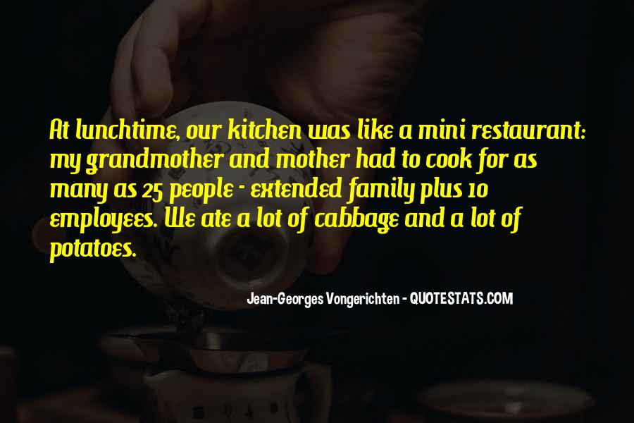 Quotes About Family In The Kitchen #597486