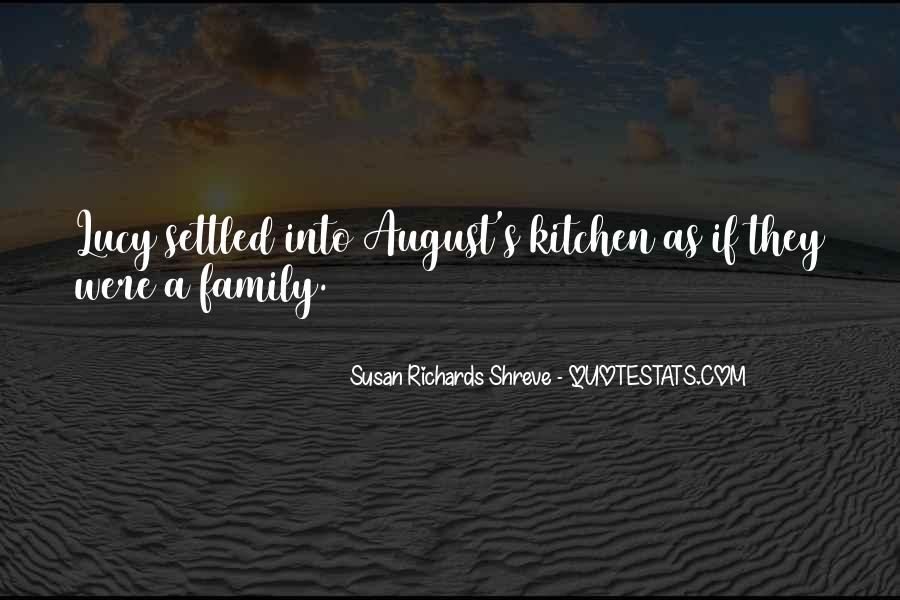 Quotes About Family In The Kitchen #607409