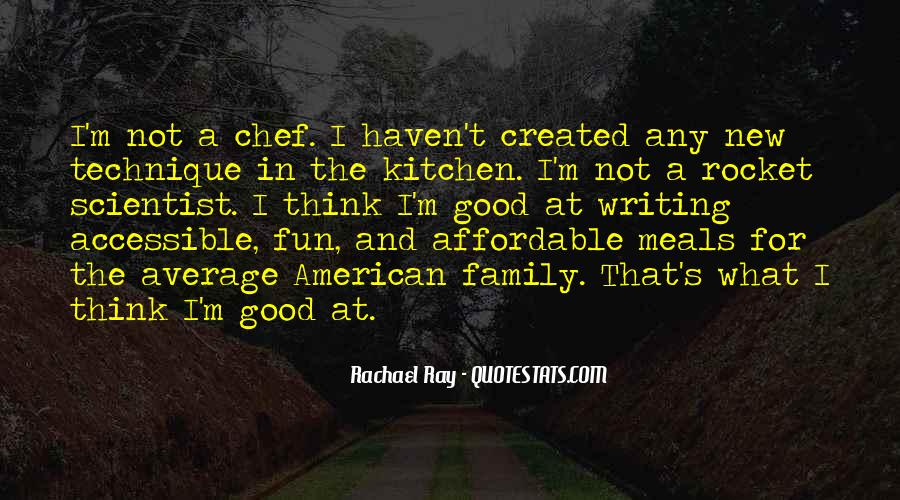 Quotes About Family In The Kitchen #795814