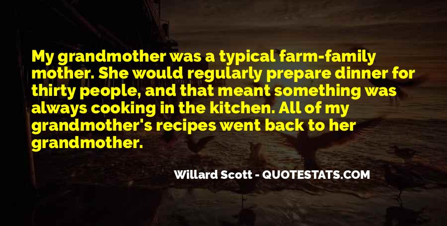Quotes About Family In The Kitchen #939988