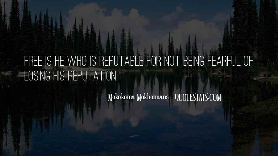 Quotes About Not Being Fearful #1078707
