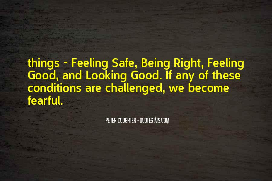 Quotes About Not Being Fearful #1551324