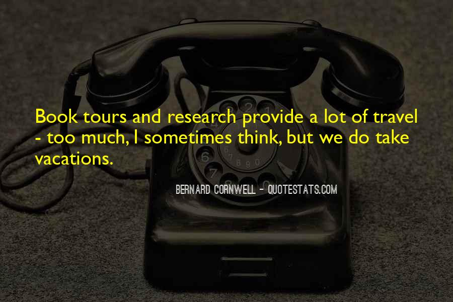 Quotes About Travel And Tours #1355292
