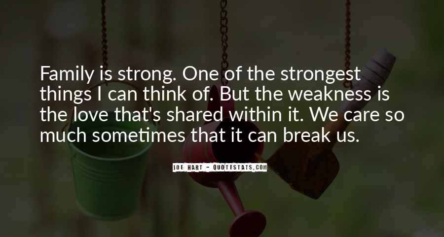 Quotes About Family Break Up #1013590