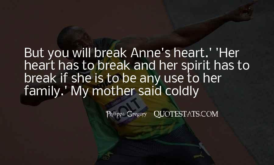 Quotes About Family Break Up #140814