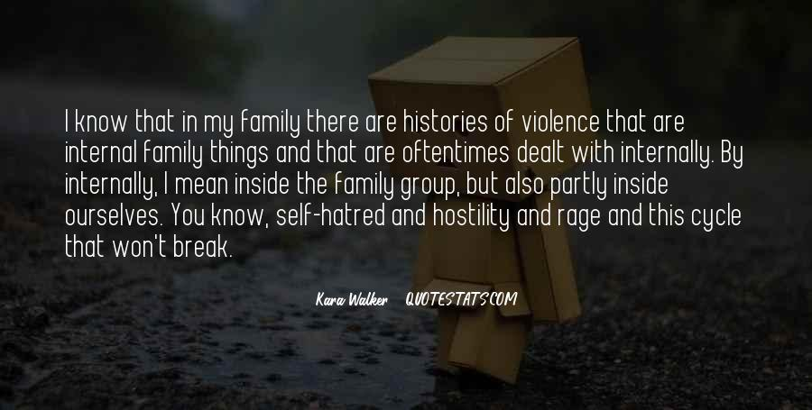Quotes About Family Break Up #201196