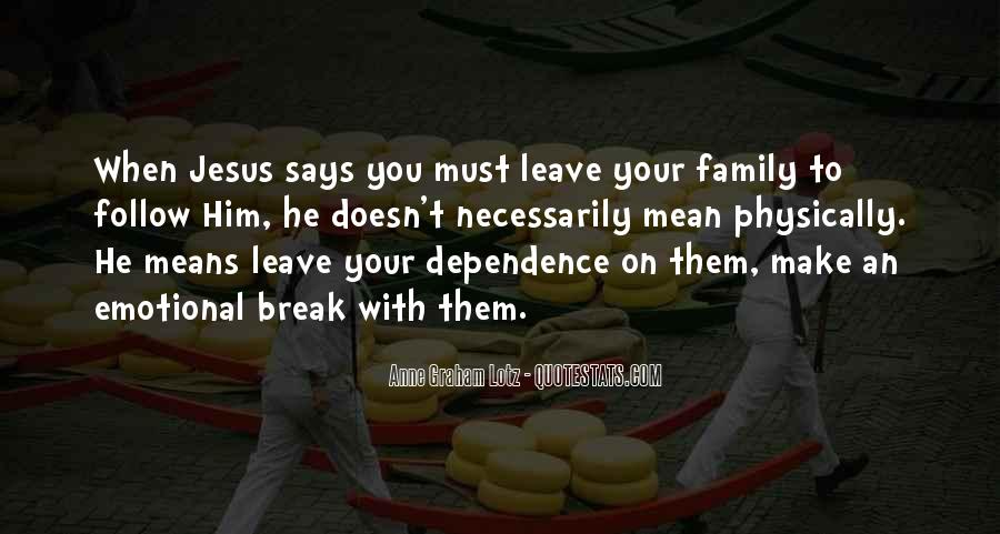 Quotes About Family Break Up #340670