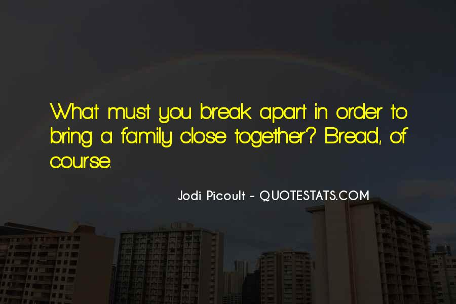 Quotes About Family Break Up #448595