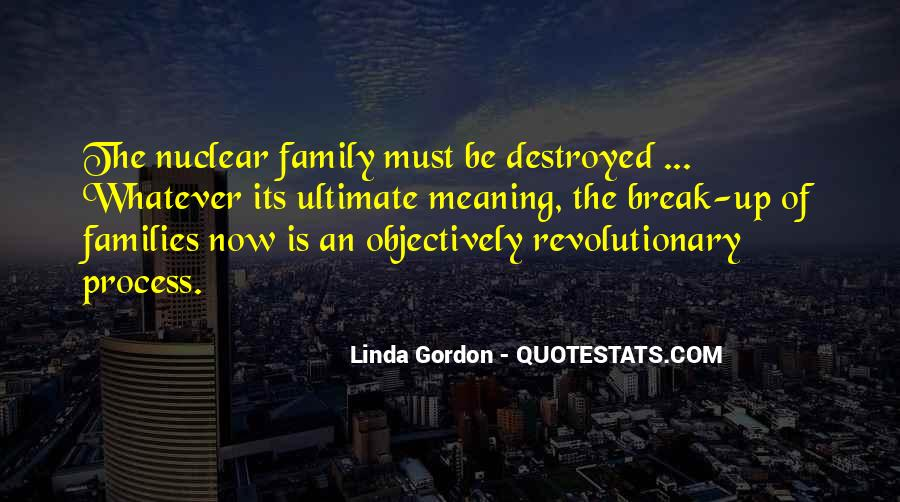 Quotes About Family Break Up #810877