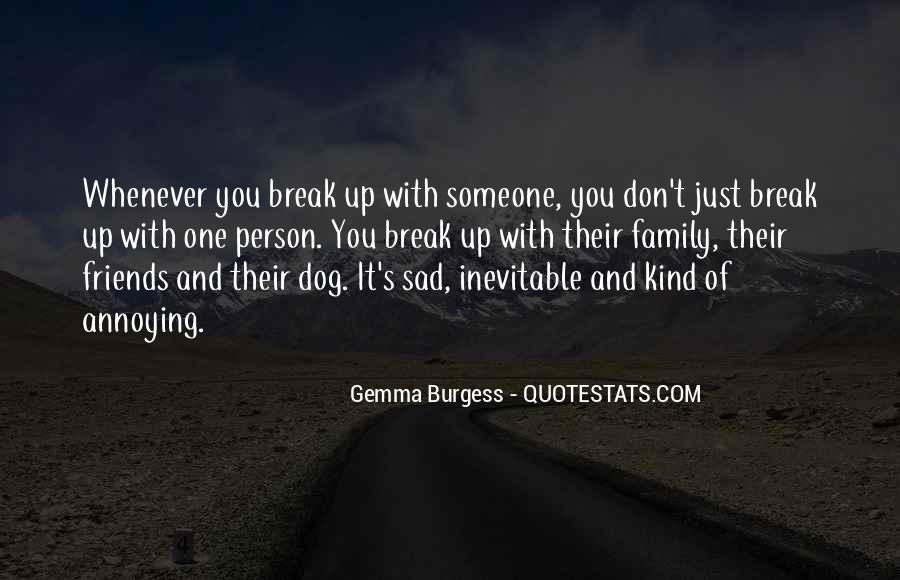 Quotes About Family Break Up #815612