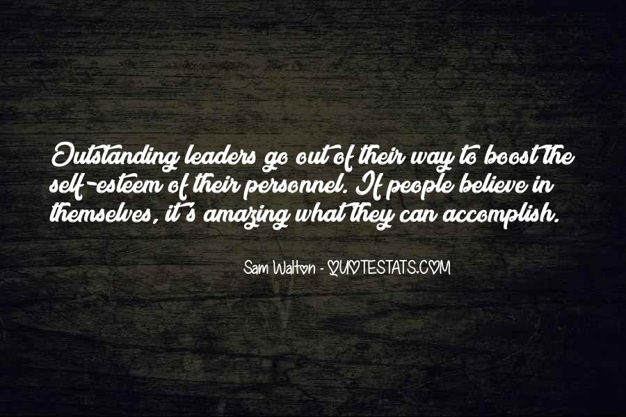 Quotes About Amazing Leaders #101927