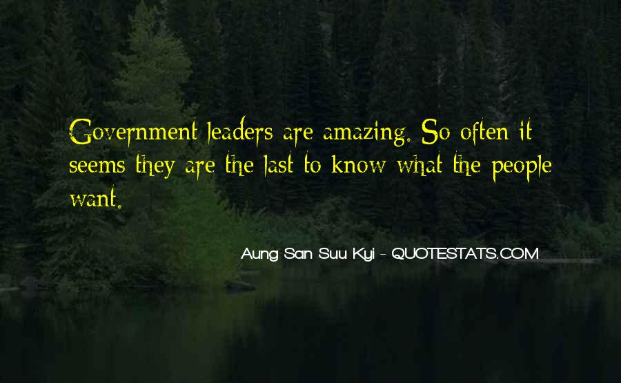 Quotes About Amazing Leaders #1423518