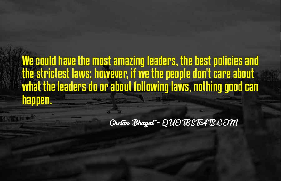 Quotes About Amazing Leaders #601496
