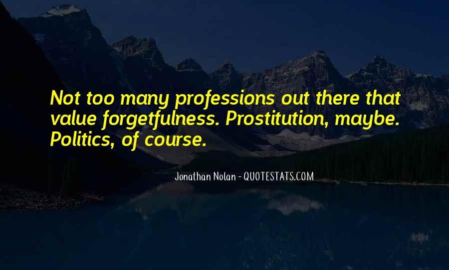 Quotes About Prostitution #270674