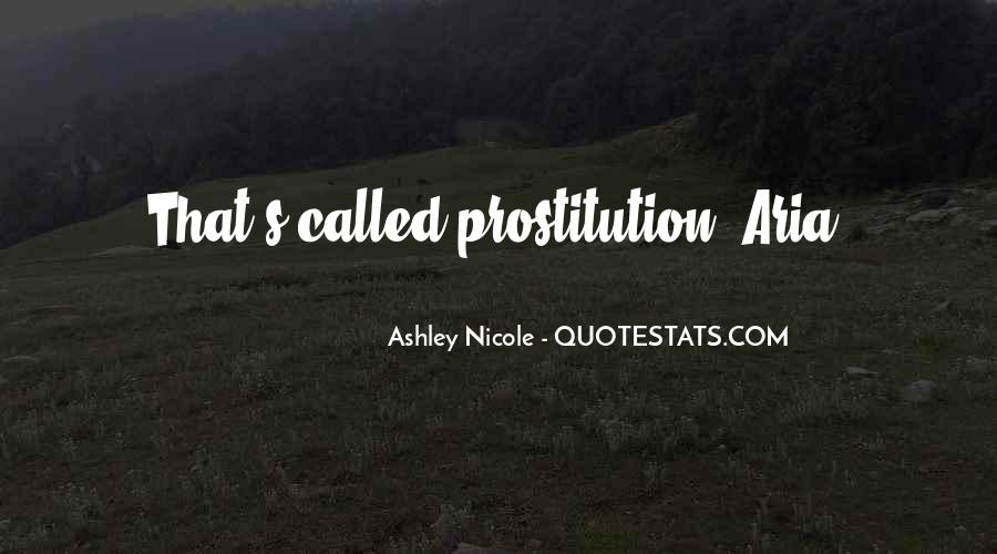 Quotes About Prostitution #282127