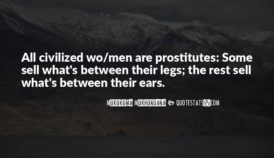 Quotes About Prostitution #410291