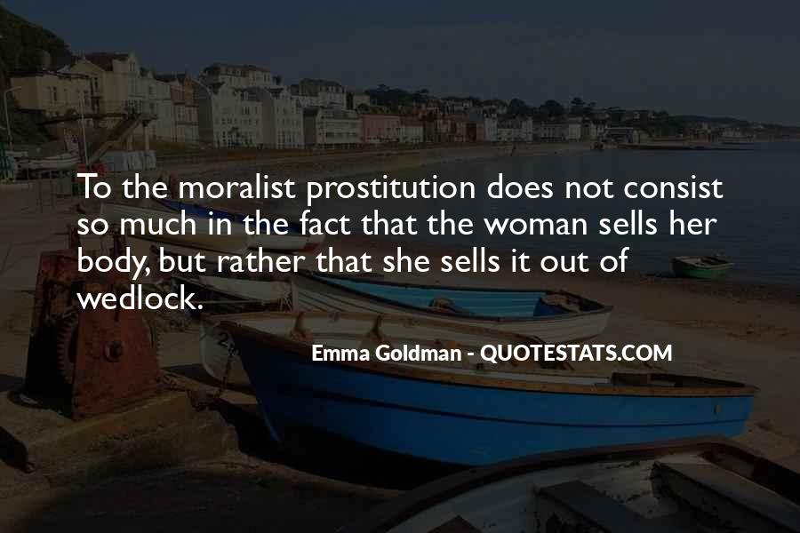 Quotes About Prostitution #452175