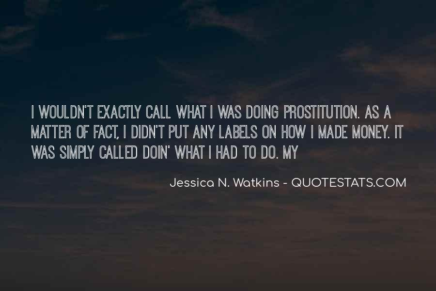 Quotes About Prostitution #479897