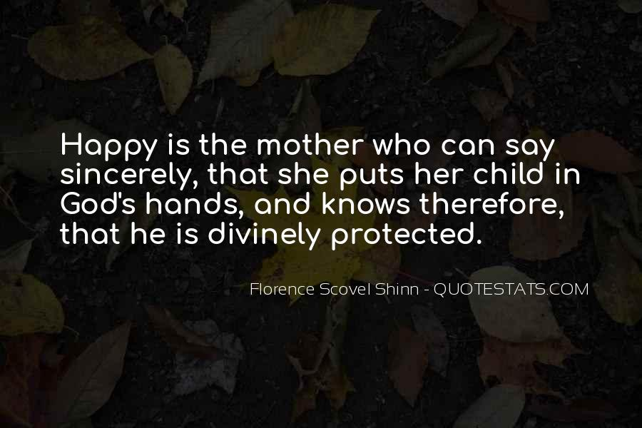 Quotes About Mother And Her Child #1286984