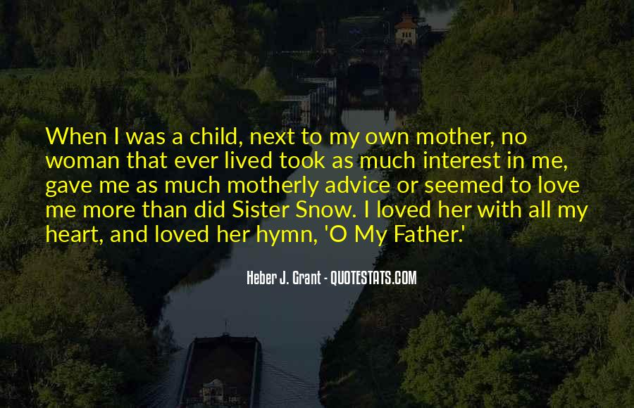 Quotes About Mother And Her Child #230327